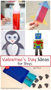 Valentine's Day crafts & activities for boys