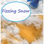 Kids Fizzing Snow Activity