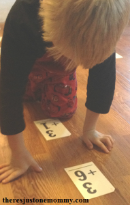 math races for kinesthetic learning