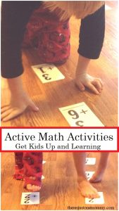 active learning activity for math facts