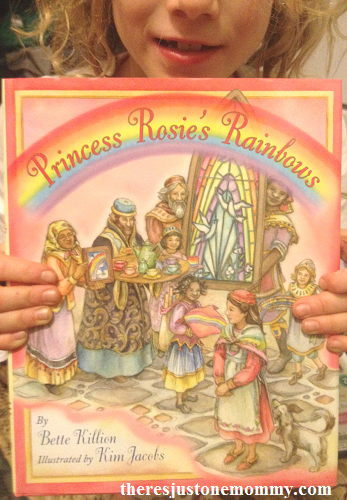 Multicultural Children's Book Day -- review for Princess Rosie's Rainbows