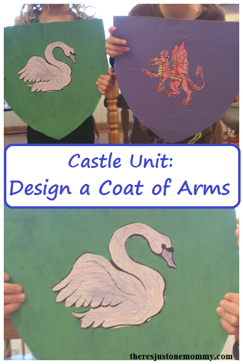 create a coat of arms for castle unit