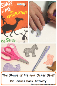 Simple Book Activity for The Shape of Me and Other Stuff