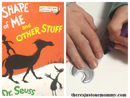 book activity for The Shape of Me and Other Stuff -- Dr. Seuss book