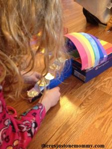 design a Leprechaun trap STEM challenge for kids