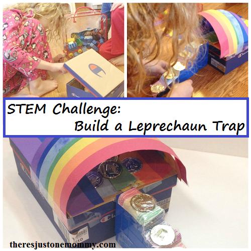 STEM activity: build a Leprechaun trap