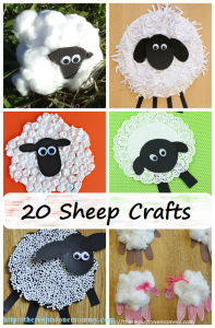 20 Adorable Lamb and Sheep Crafts for Spring