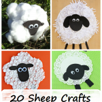 kids sheep and lamb crafts