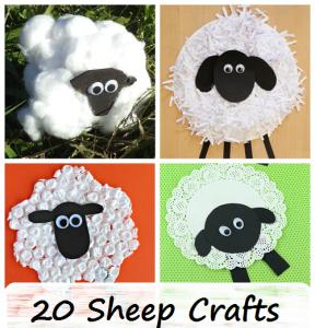 kids sheep and lamb crafts