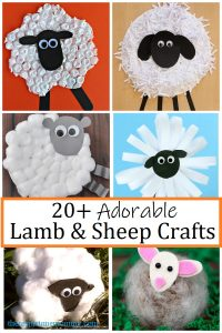 lamb and sheep crafts for kids