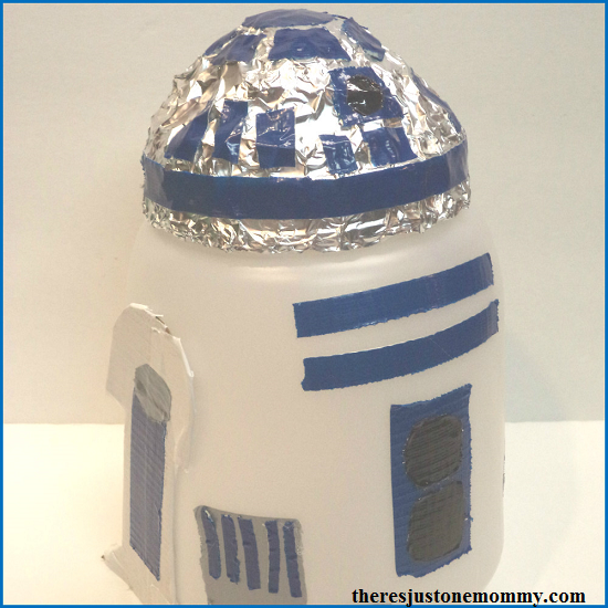 Star Wars R2-D2 Craft Theres Just One Mommy