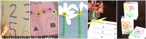 math flower activities