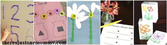 math flower activities