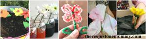 flower activities for kids -- science flower activities