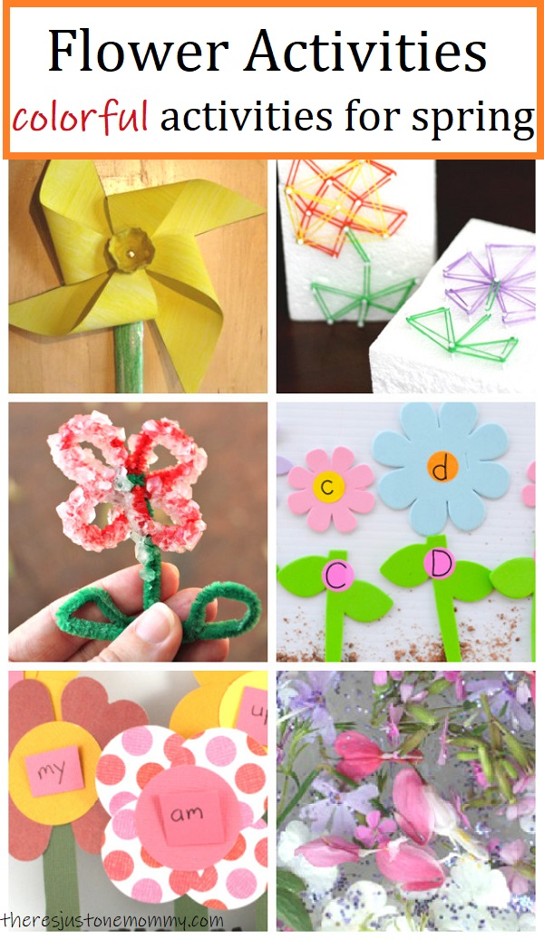kids activities with flowers