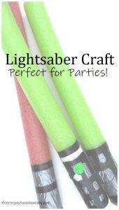 Star Wars lightsaber craft