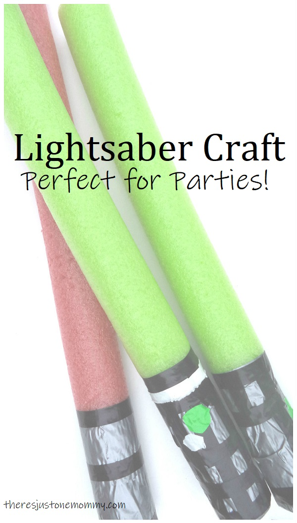 Star Wars lightsaber craft