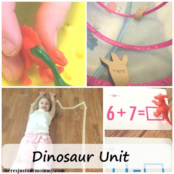 fun activities for dinosaur unit study