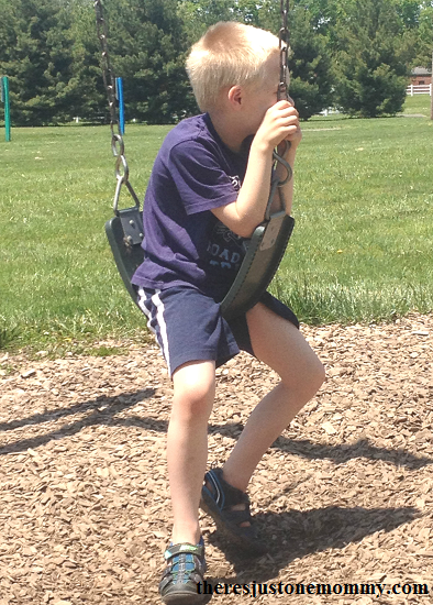 how swinging can increase core strength in kids