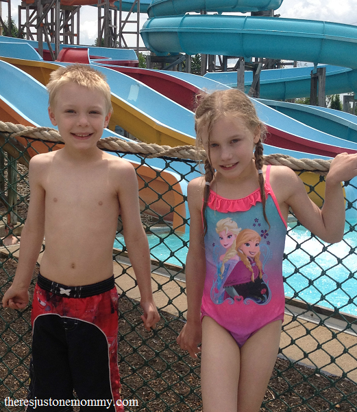 Kings Island Soak City Waterpark -- family fun in Ohio