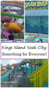 Kings Island Soak City -- Ohio waterpark with something for everyone, including all new Tropical Plunge