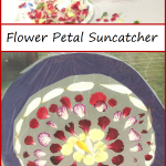 Gorgeous Flower Petal Suncatcher