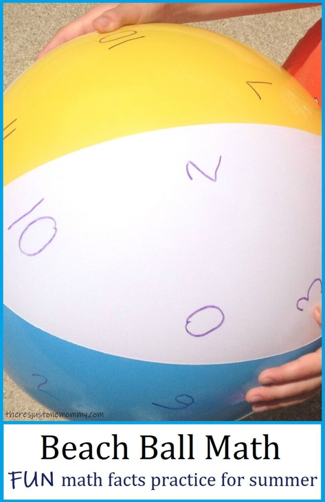fun math facts game for summer