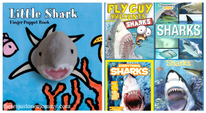 kids shark books -- books for Shark Week
