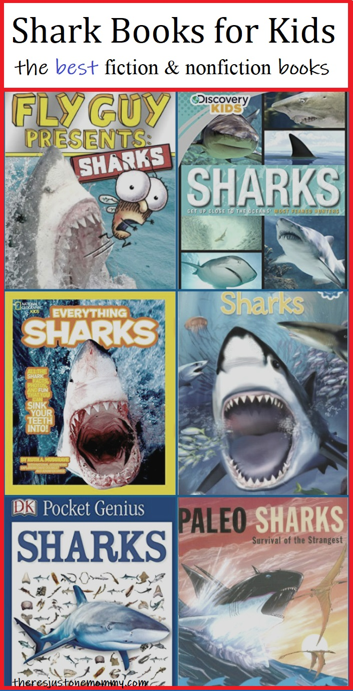 kids books about sharks