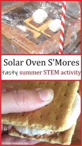 how to make smores with a pizza box solar oven