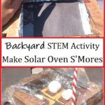 how to make solar oven s'mores