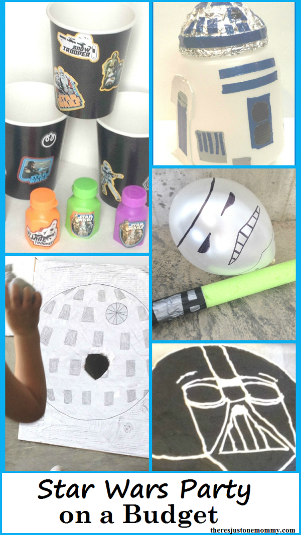 Star Wars party on a budget -- kids Star Wars birthday party ideas
