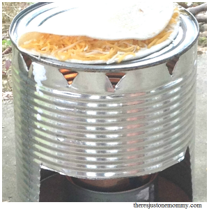 how to make a buddy burner; how to make a tin can stove