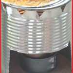 how to make a buddy burner and tin can stove