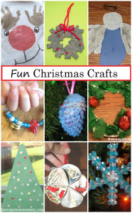 collection of Christmas crafts and Christmas activities for kids from http://theresjustonemommy.com