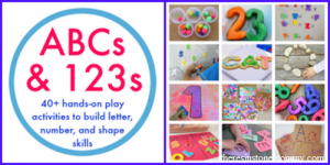 ABCs & 123s -- new eBook full of hands-on learning fun