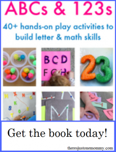 ABCs & 123s: New ebook full of hands-on play activities to build letter and math skills
