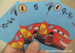 math game: make your own math card games to practice math facts at home