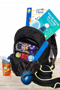 Sensory Fix -- backpack full of sensory related items from Project Sensory