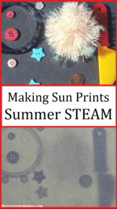 summer STEAM activity for kids