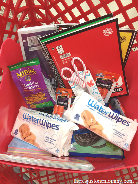 Back to School Supply shopping with Target gift card giveaway #WaterWipesTarget (ad)