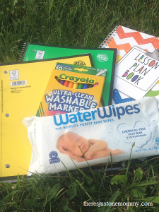 back to school shopping with WaterWipes & Target