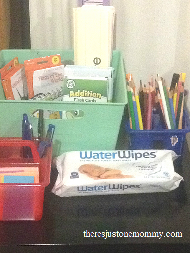 back to school shopping -- WaterWipes and Target giveaway