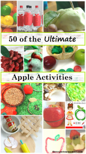 50 of the ultimate apple activities: learning activities perfect for an apple unit (apple math activities,apple literacy activities, apple crafts, and more)