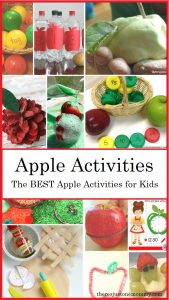 a collection of the BEST apple activities and apple crafts -- perfect for an apple unit