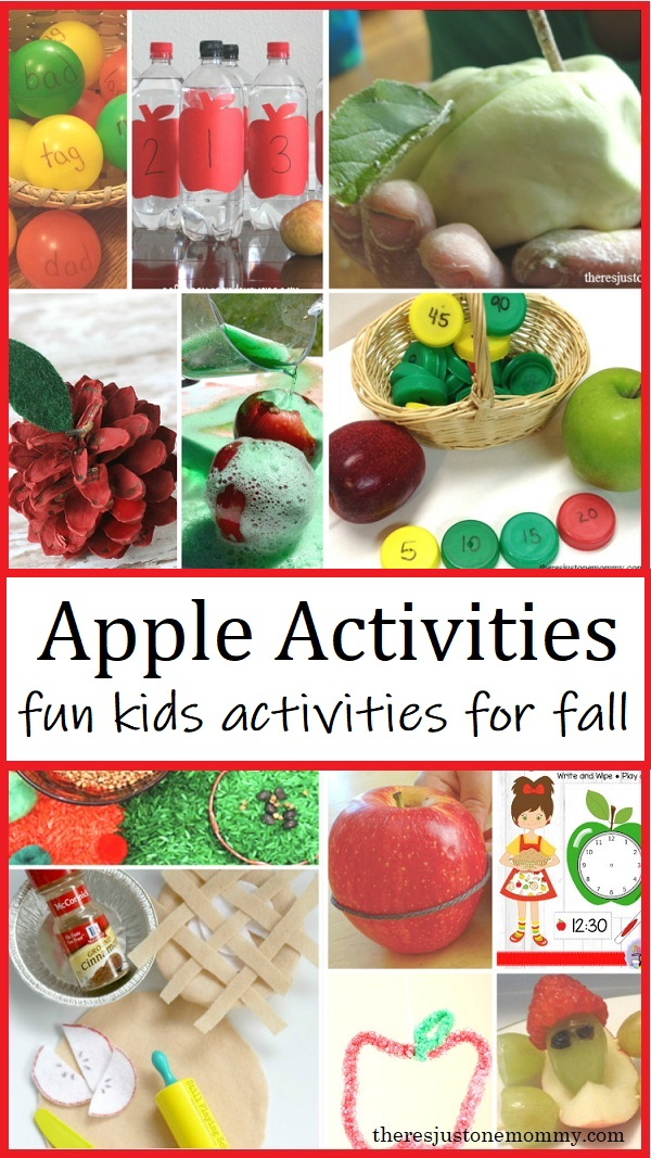 learning activities for apple unit