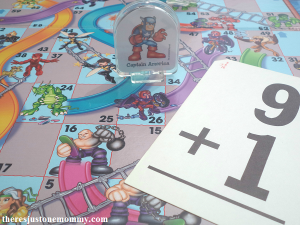 make practice math facts more fun with Chutes and Ladders