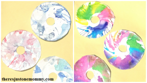 spin art kids craft