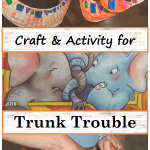Snake Craft and Activity for the Book Trunk Trouble