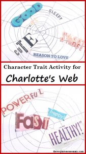 Book Activity for Charlotte's Web